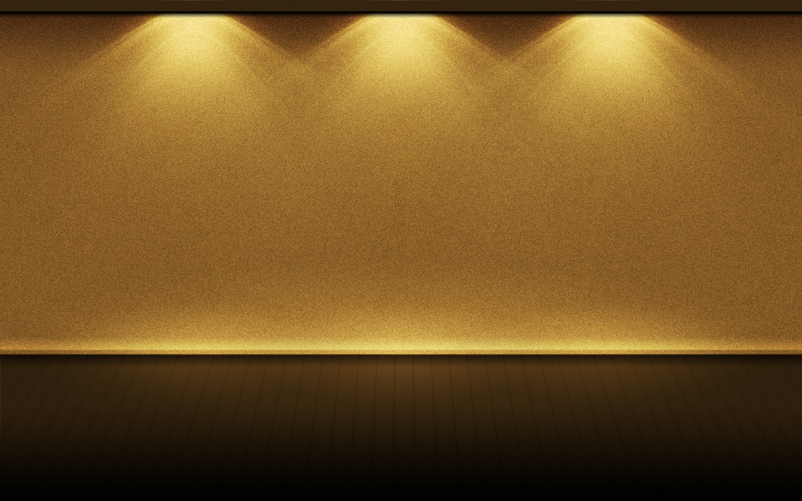 Gold Lights HD Wallpapers Hintergrnde 2560x1600