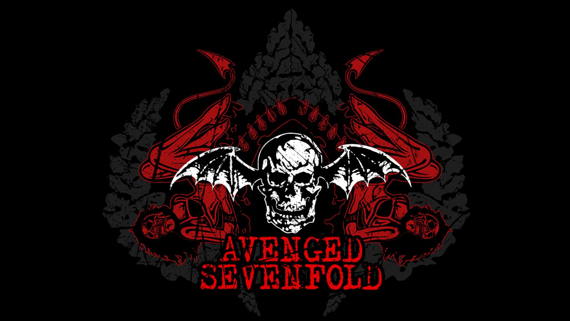 Avenged Sevenfold Logo 1920x1080