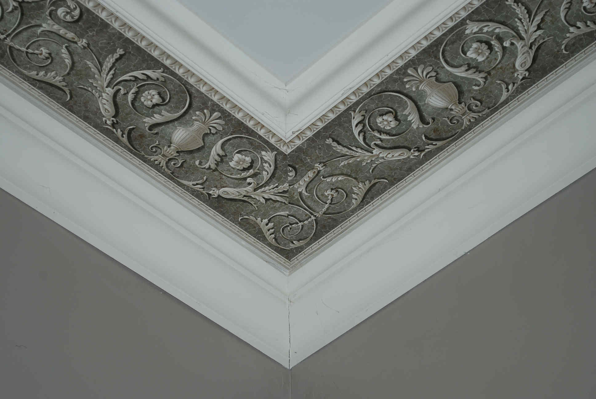 Wallpaper border on ceiling ICDCI Can Do Crafts Pinterest 1936x1296