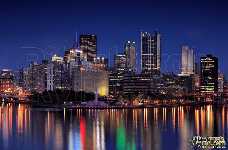 Pittsburgh Desktop Wallpaper Skyline: Pittsburgh Wallpaper And Screensaver