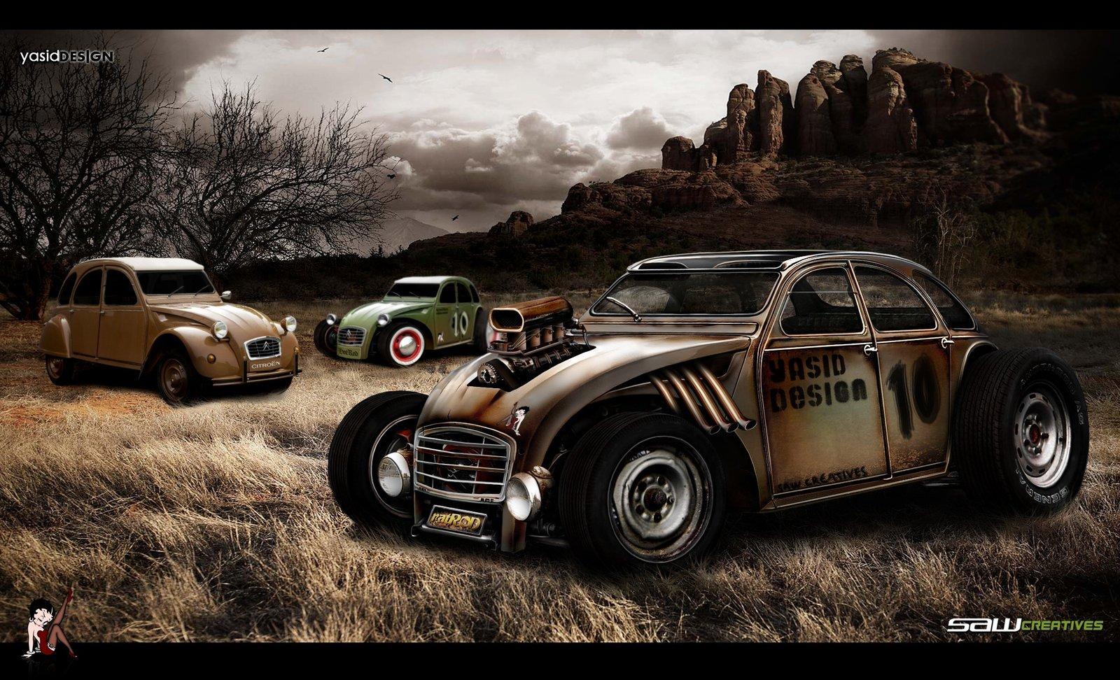 What A Rat Rod Is Wallpaper PicsWallpapercom 1600x972