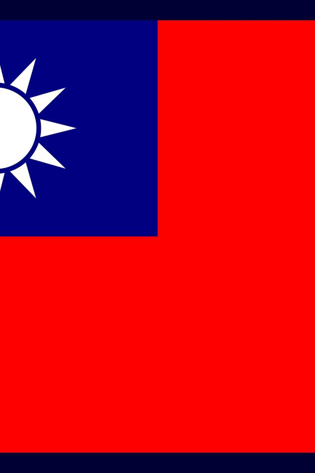 Taiwan flags nations wallpaper 74538 640x960