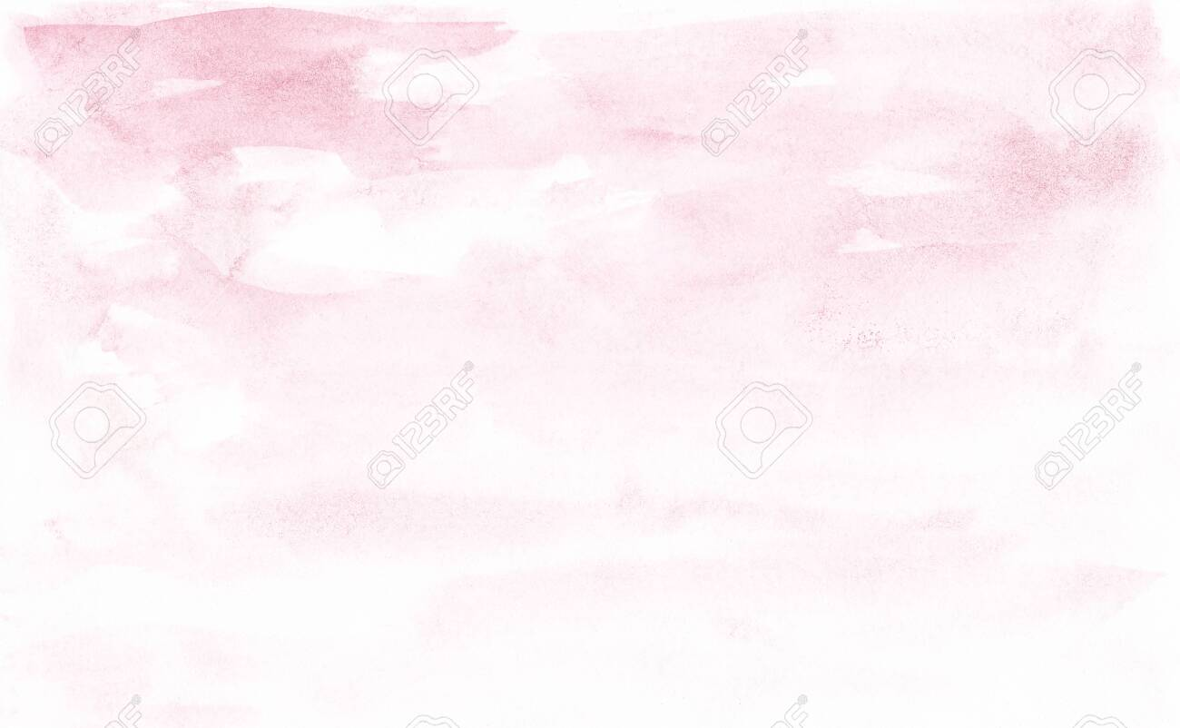 Blush Pink Watercolor Texture Abstract Background Stock Photo 1300x802