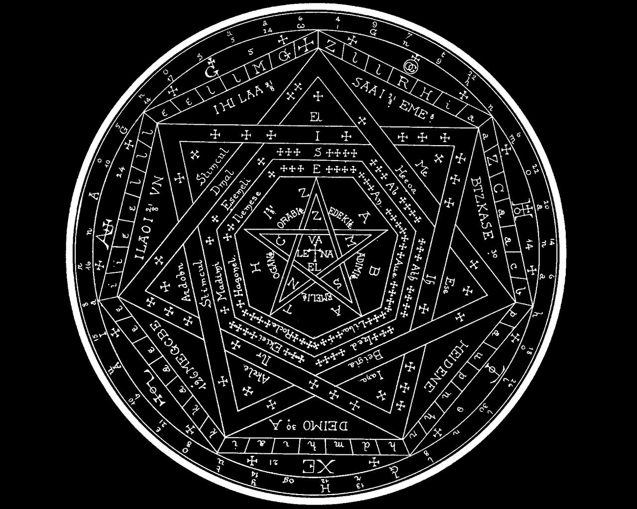 calendar esoteric Wallpapers 1280x1024