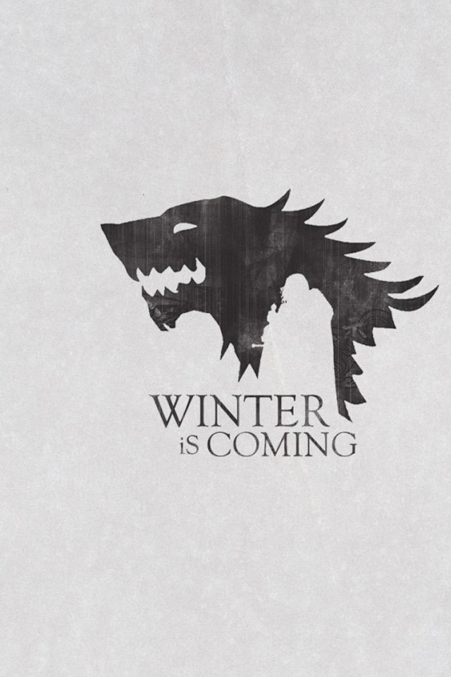 Winter is Coming iPhone Wallpaper HD 640x960