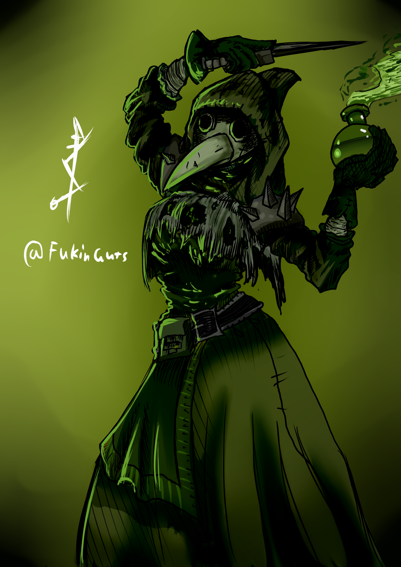 Plague Doctor   Darkest Dungeon by DancingSoldier on 1280x1810