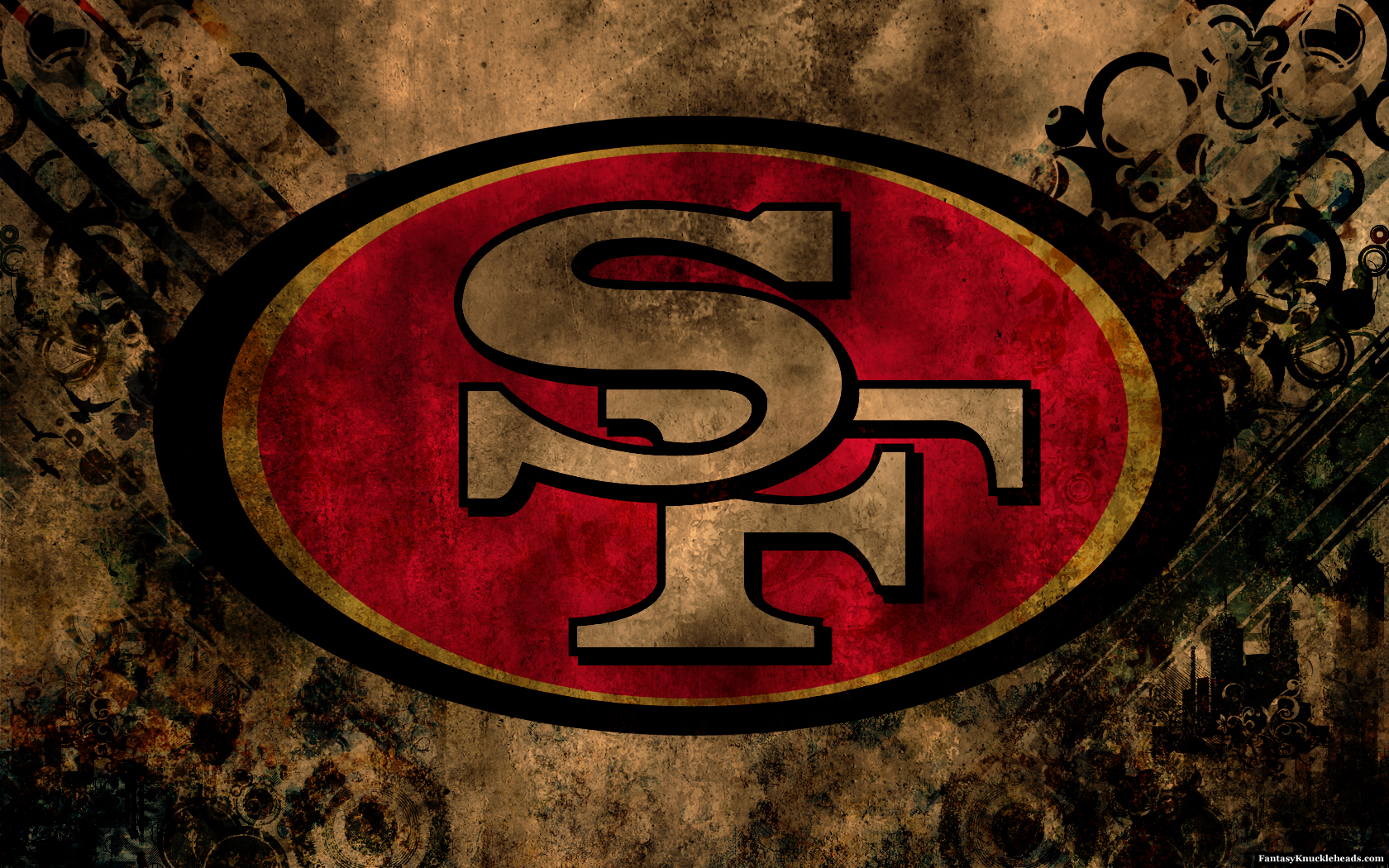 Francisco 49ers wallpaper HD images San Francisco 49ers wallpapers 1680x1050