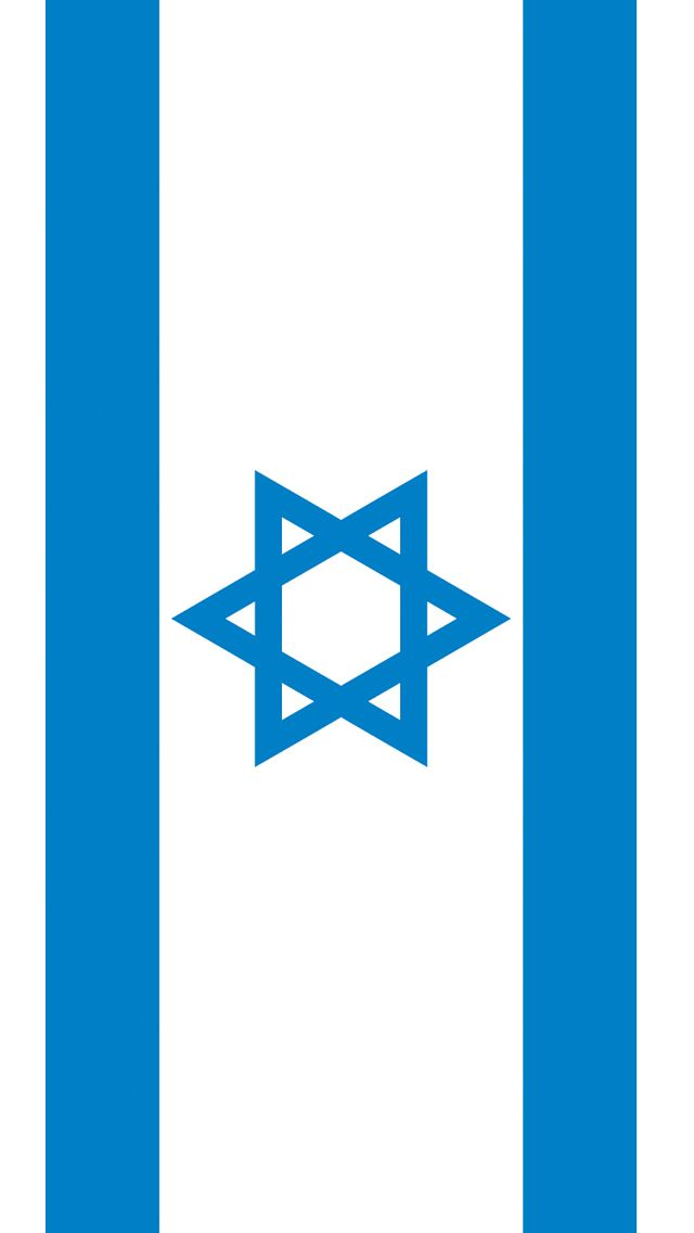 Israel Flag iPhone 5 Wallpaper 640x1136 640x1136