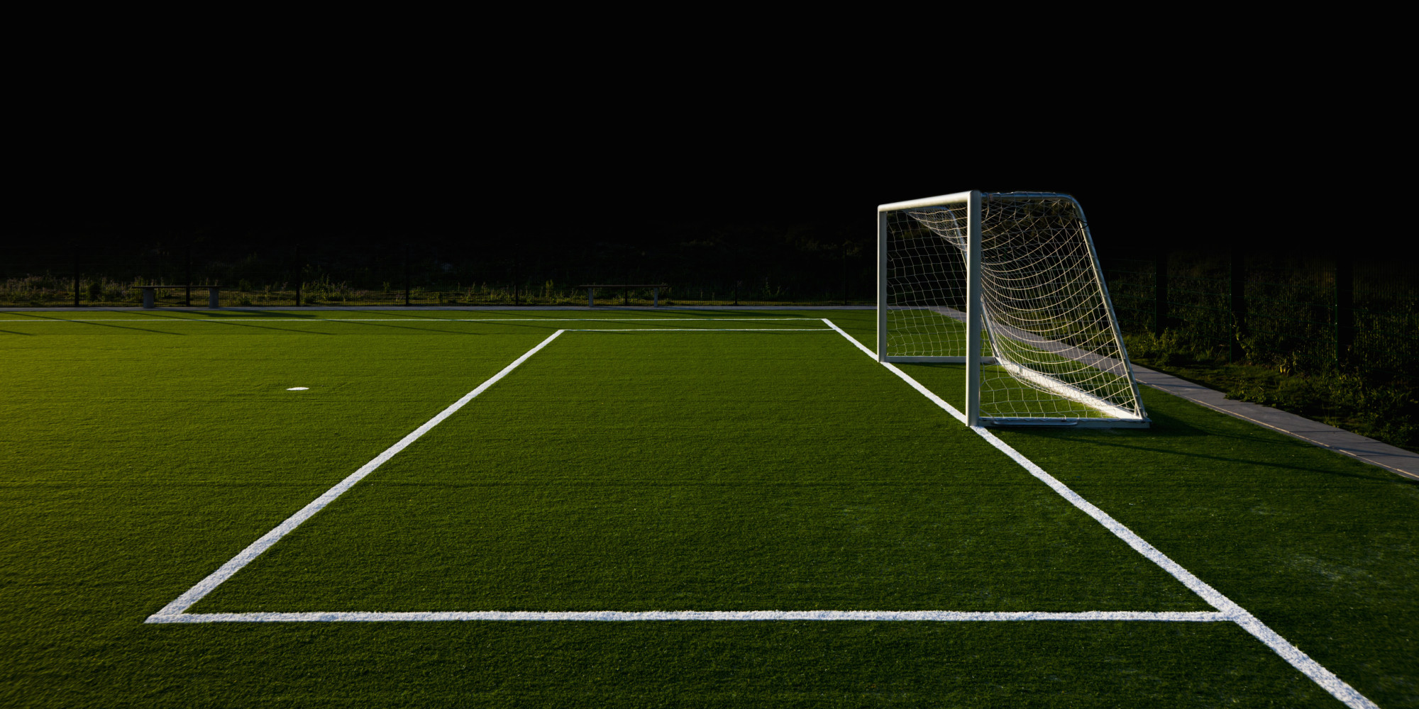 Soccer Field Wallpaper - WallpaperSafari
