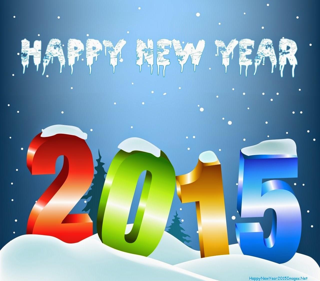 Latest 3D Happy New Year wallpaper 2015 Scoopak 1280x1122