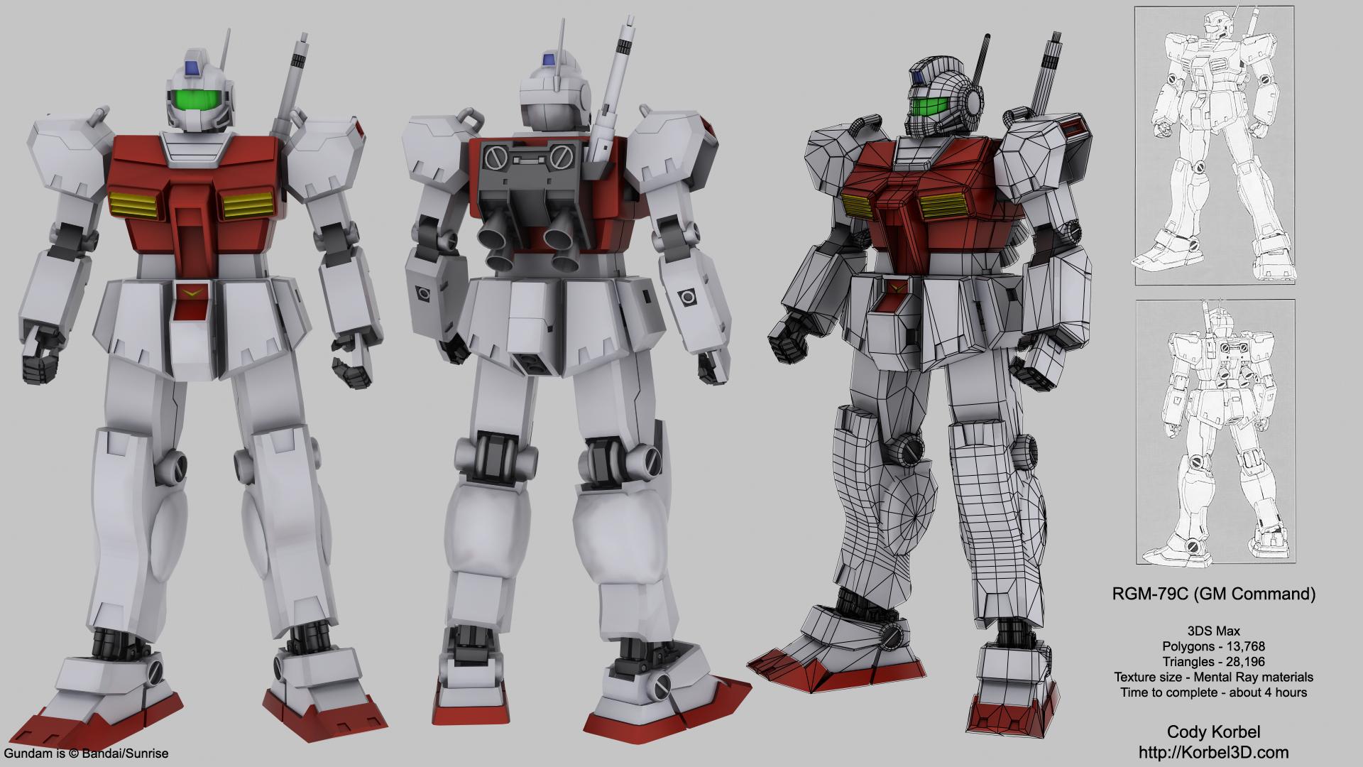 Korbel 3D   Models 1920x1080