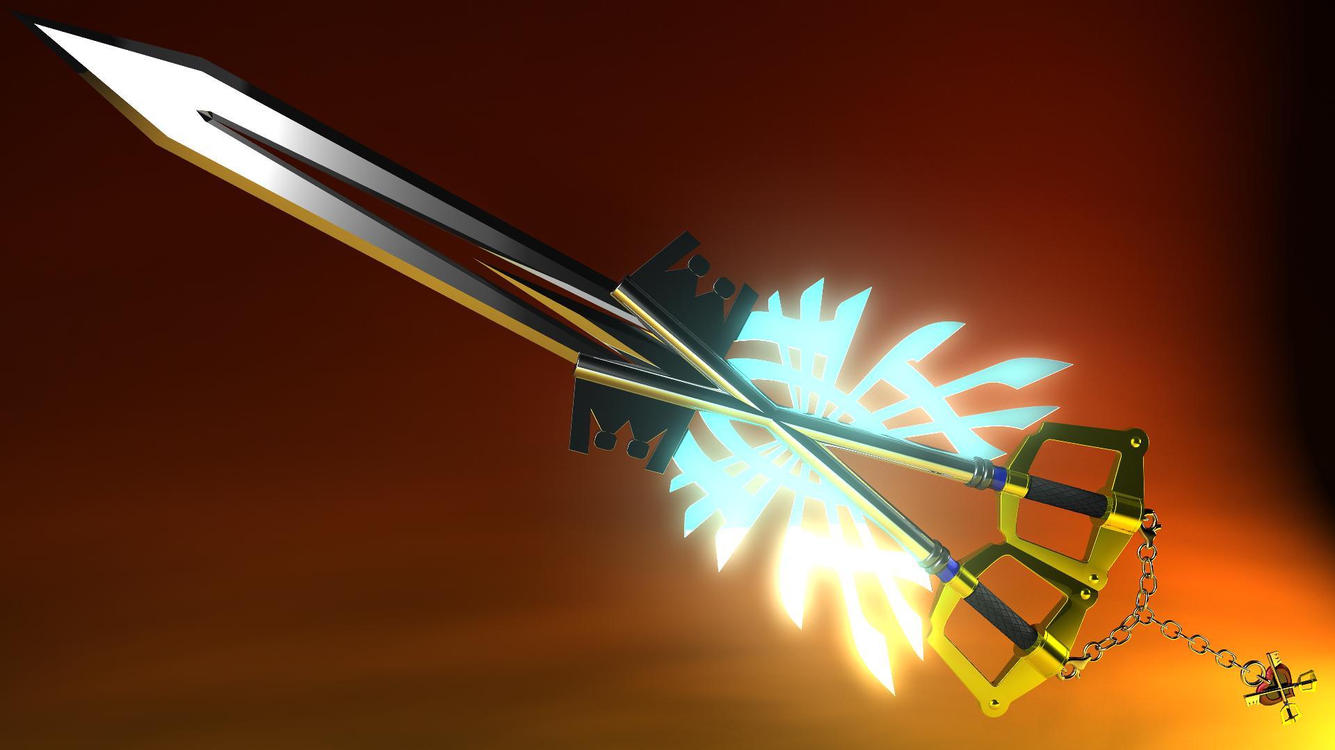 Kingdom Hearts Keyblade Wallpaper Hd