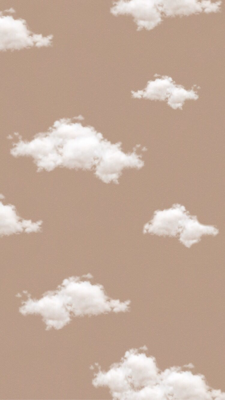 cloud background brown background aesthetic background Cloud 750x1333