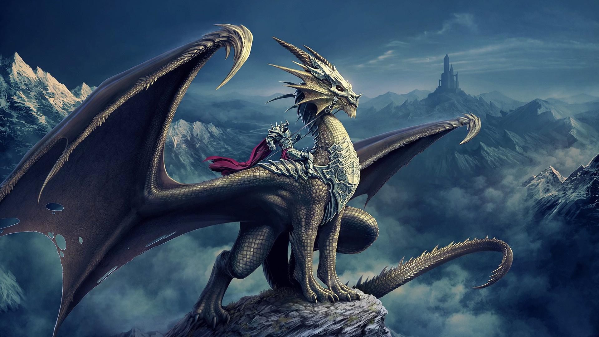 Resolution Fantasy Black Dragon Wallpaper HD 8   SiWallpaperHD 1621 1920x1080