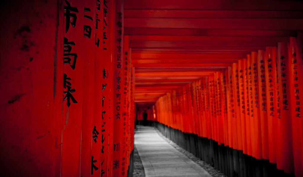 Fushimi Inari Taisha Torii by imladris517 1024x597