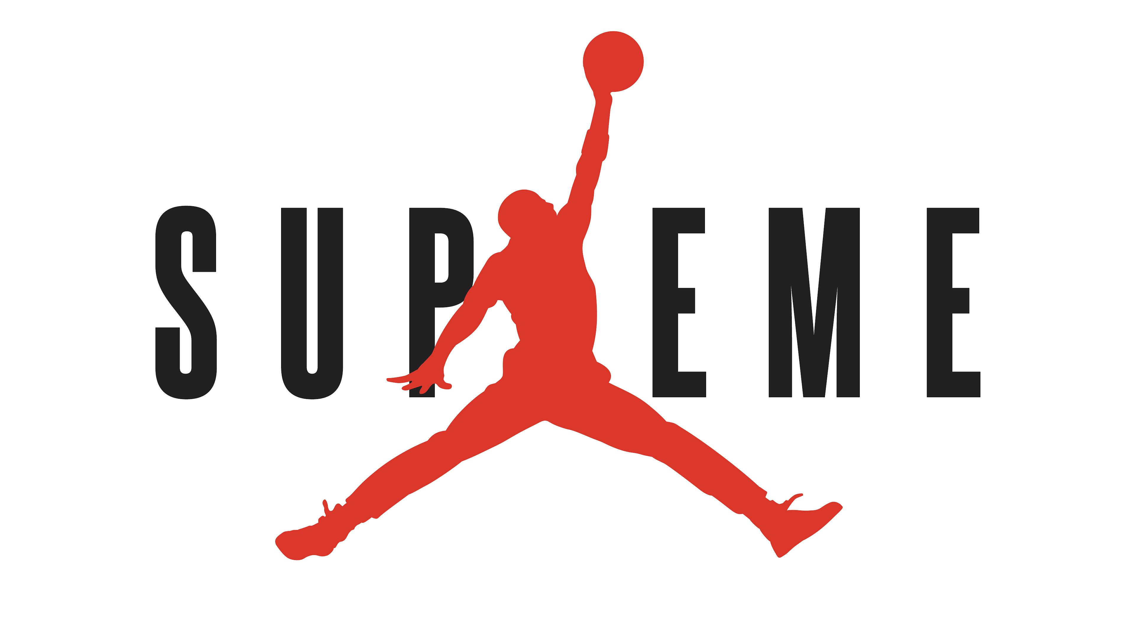 Supreme Wallpaper 4k Photo   Supreme Jordan Logo 1043   HD 3840x2160