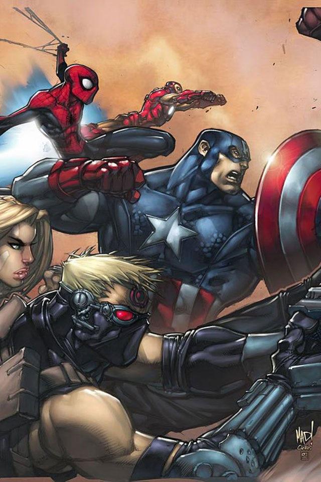 Captain America iPhone Retina Display Wallpaper iPhone Fan Site 640x960