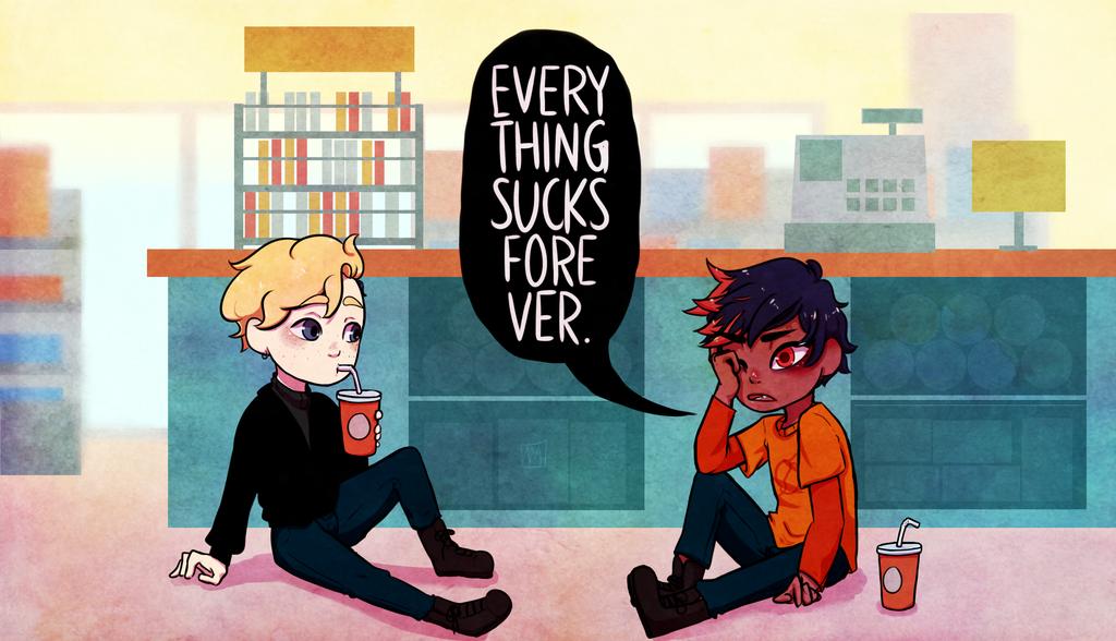 Everything Sucks Forever by yokarichan 1024x588