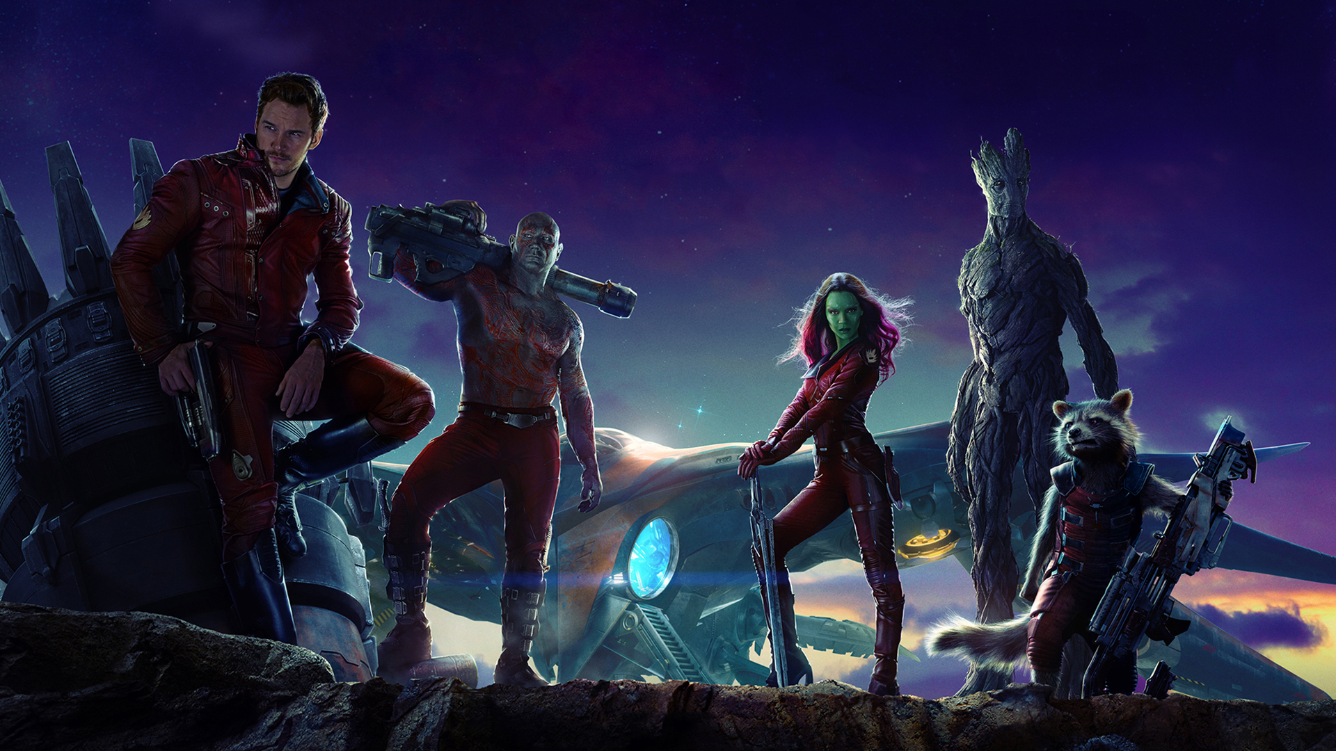 Marvels Guardians Of The GalaxyL to R Groot voiced by Vin 1920x1080