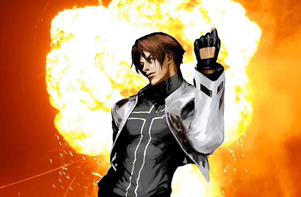 Cool guys dont look at explosions   Kyo Kusanagi by 1024x672