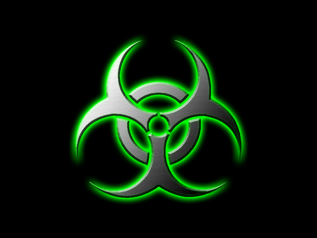 Green Biohazard by SpaceBoy2000 1024x768