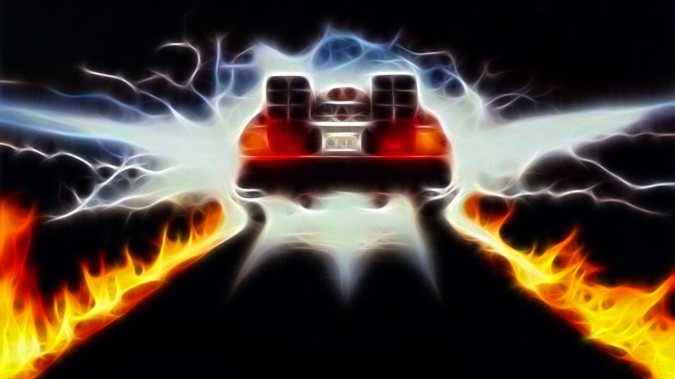 Back To The Future Wallpaper Back to the future 1366x768
