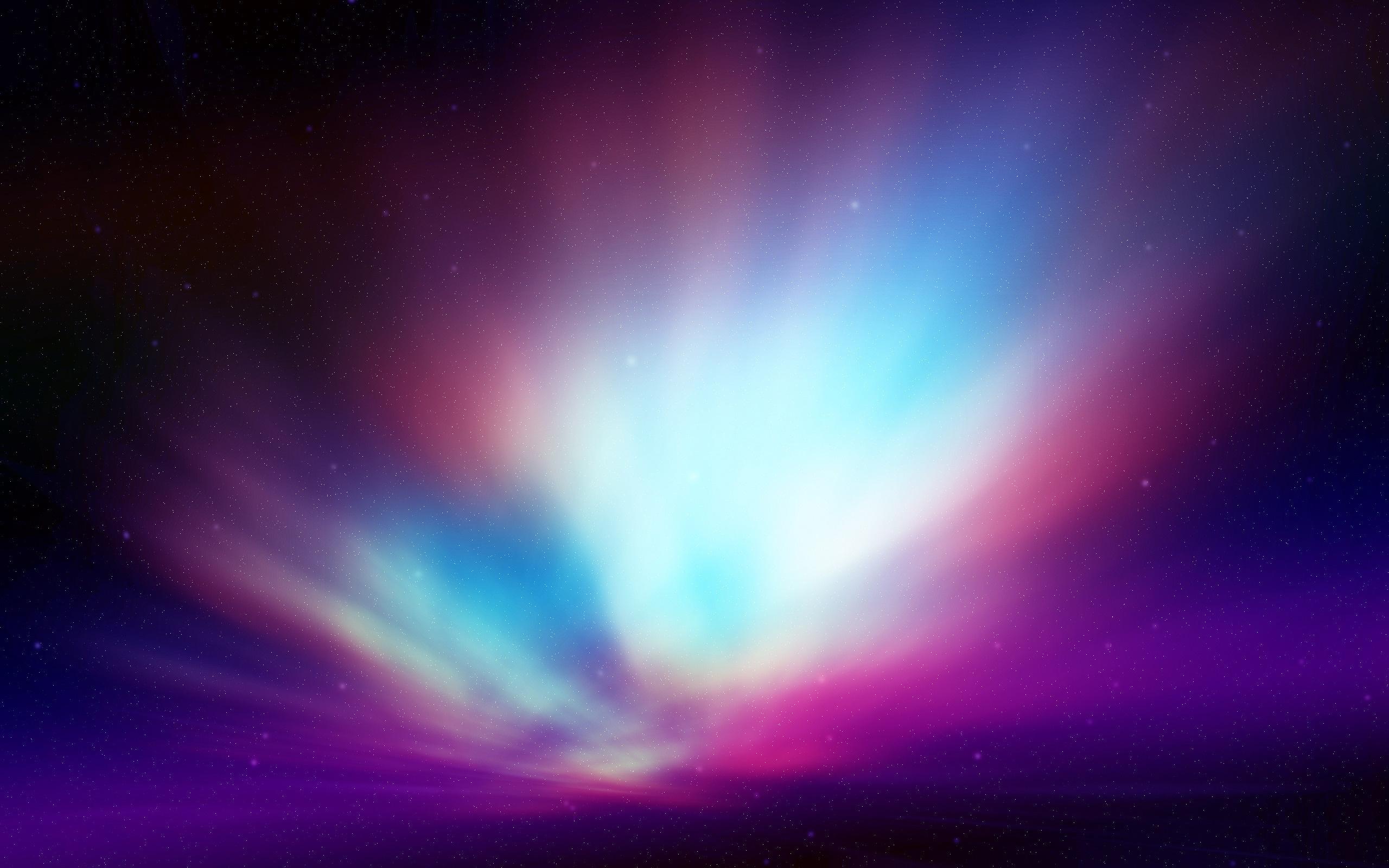 Wallpaper northern lights, aurora, night desktop wallpaper » 3D ...
