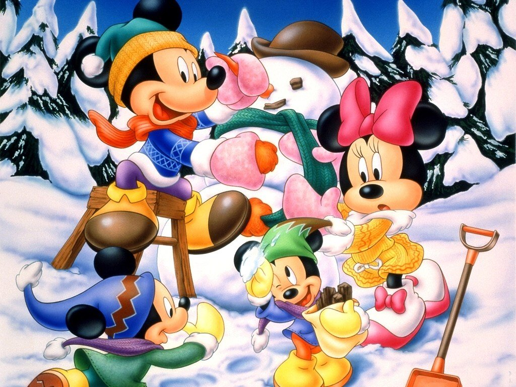 Disneyland Christmas Wallpapers Wallpapers High 1024x768