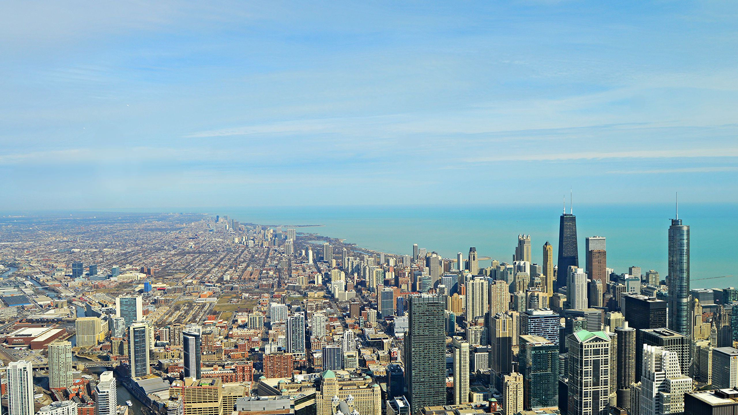 BOTPOST [BOT] Chicago looking north iimgurcom 2560x1440