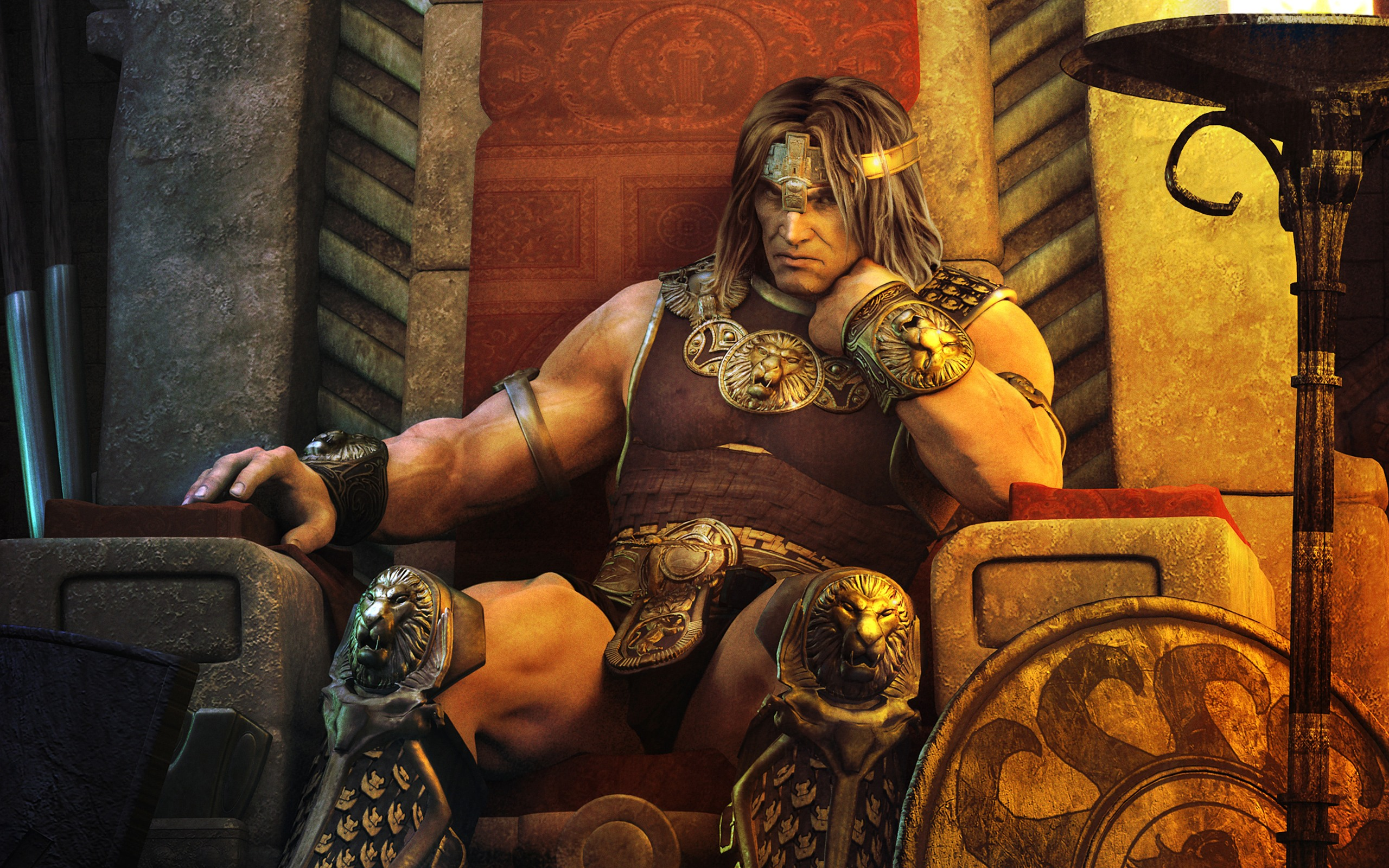 Age of Conan   Throne desktop wallpaper 2560x1600