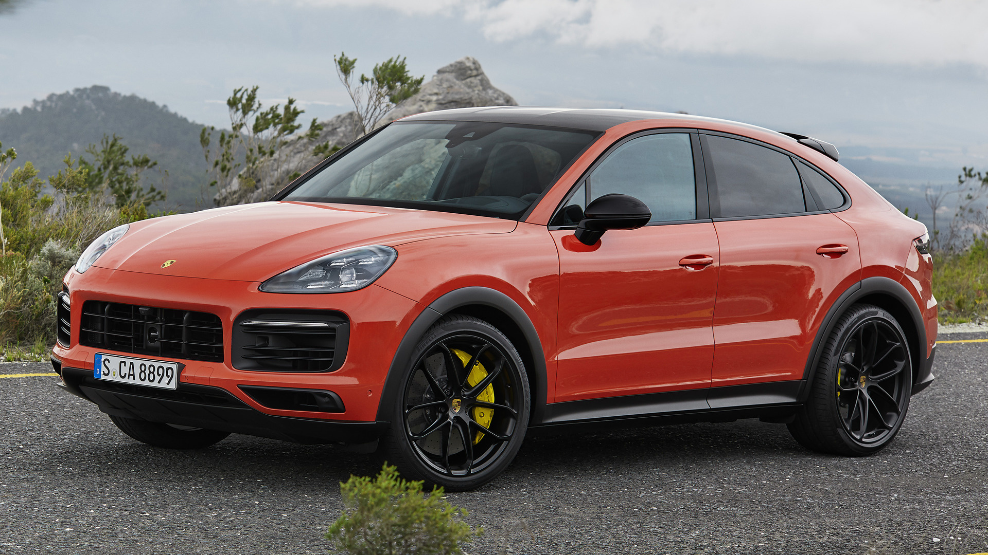 2019 Porsche Cayenne Coupe SportDesign Package   Wallpapers and HD 1920x1080