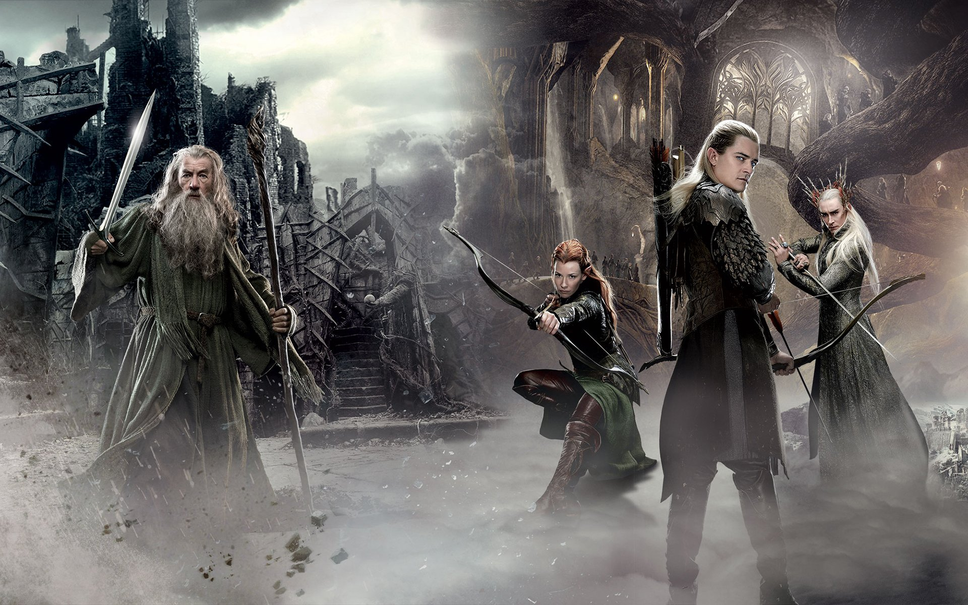 Gandalf The Elves   Movies Wallpapers Best HD Wallpapers Photos and 1920x1200
