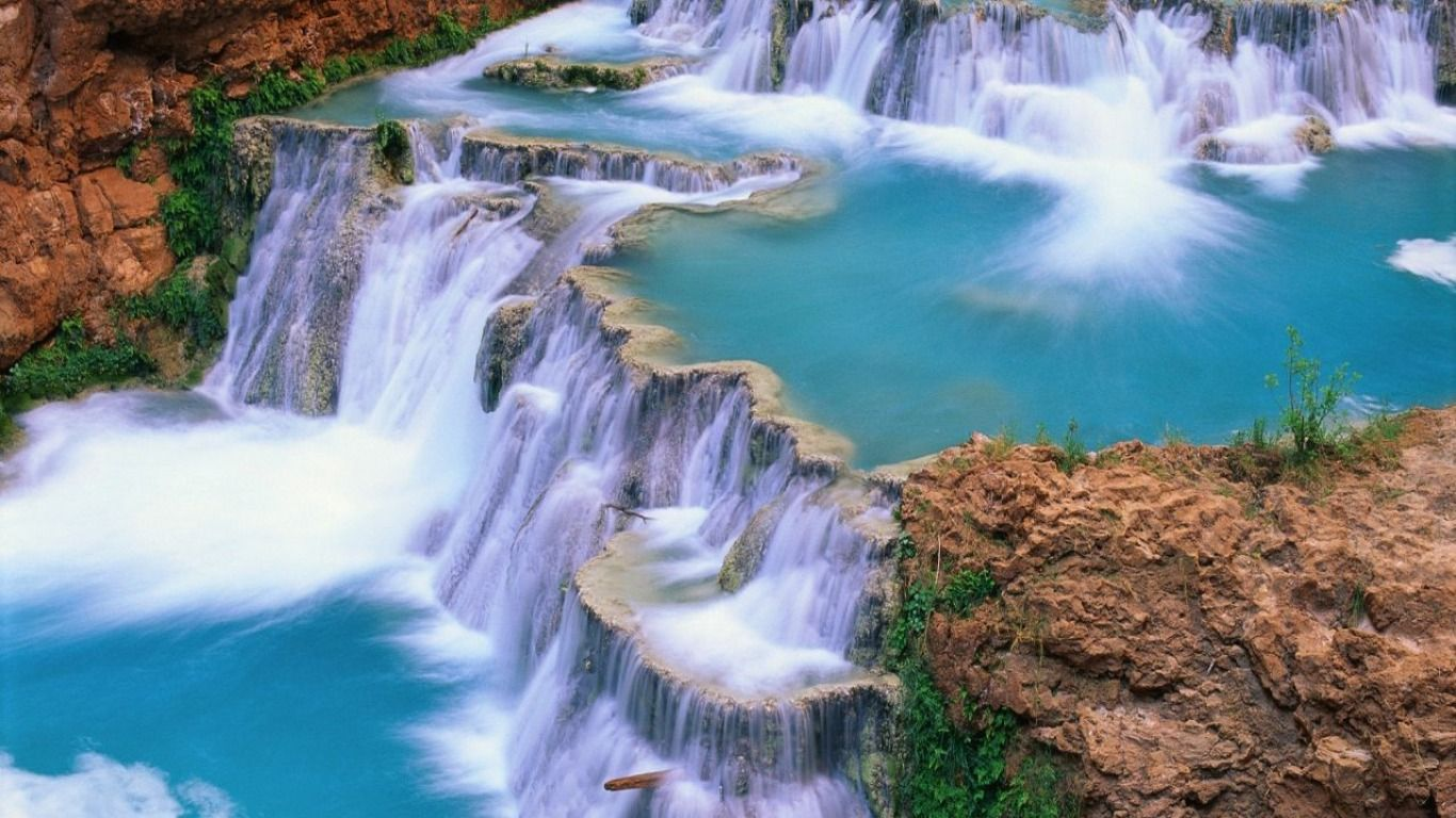 60 Pretty Waterfall Wallpapers   Download at WallpaperBro 1366x768