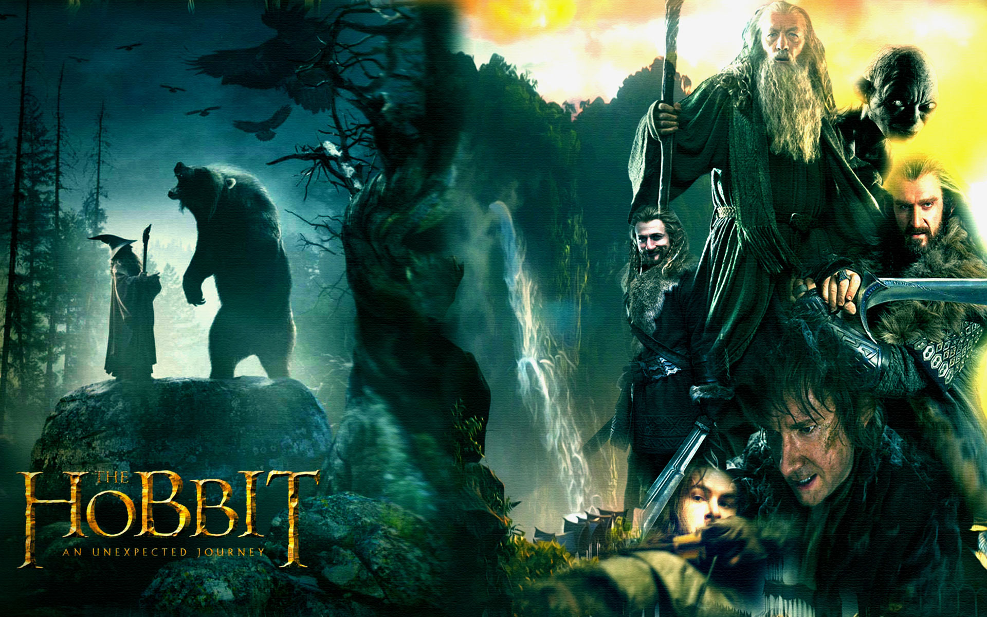 The Hobbit Movie Wallpaper HD Desktop Backgrounds 1920x1200