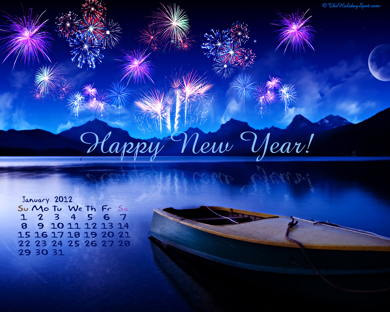 January 2nd 2012 Desktop Wallpaper Calendars January 2012 1280x1024