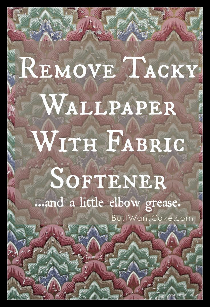 DIY Wallpaper Removal with Fabric Softener 736x1077