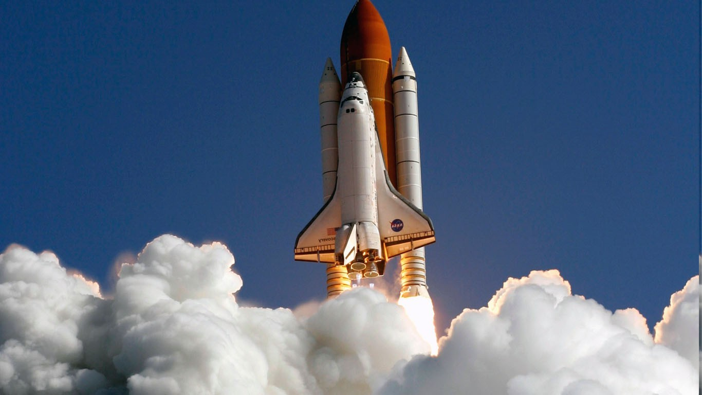 space Space Shuttle Wallpapers HD Desktop and Mobile 1366x768