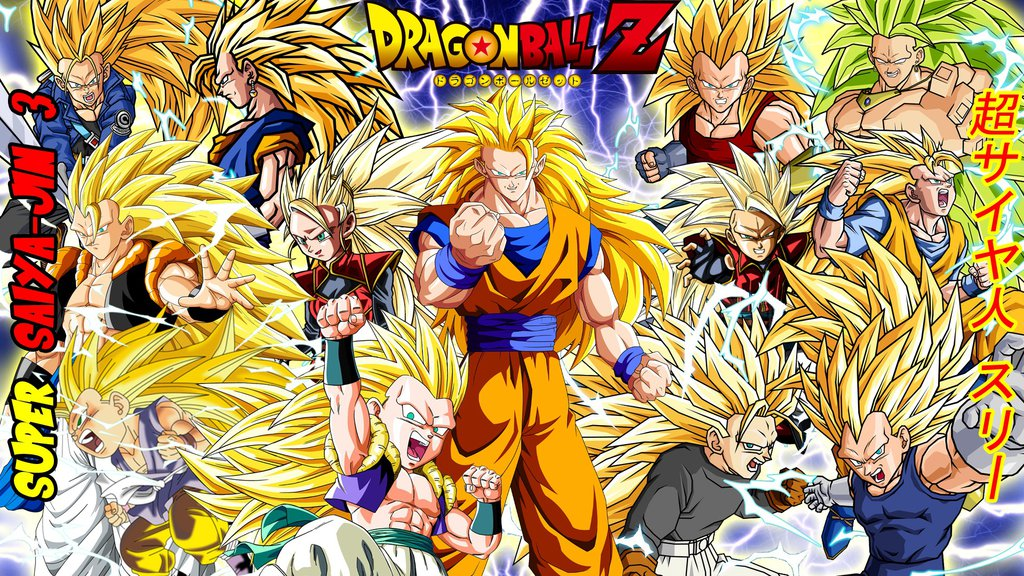 Dragon Ball Z Super Saiyajin 3 Wallpaper by gonzalossj3 1024x576