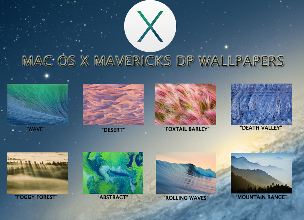 Mac OS X Mavericks DP Wallpapers Pack by TheNathanNS 1050x761
