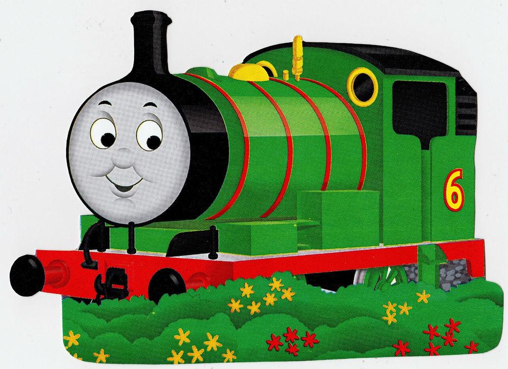 Thomas The Train Tank Character Novelty Peel Stick Wall Border Cut 1000x727