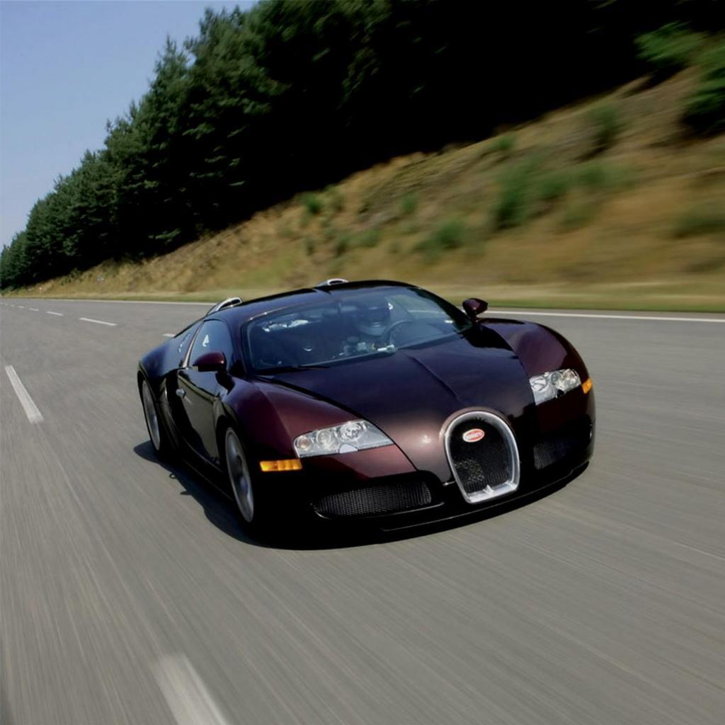 Green Bugatti Veyron Wallpaper