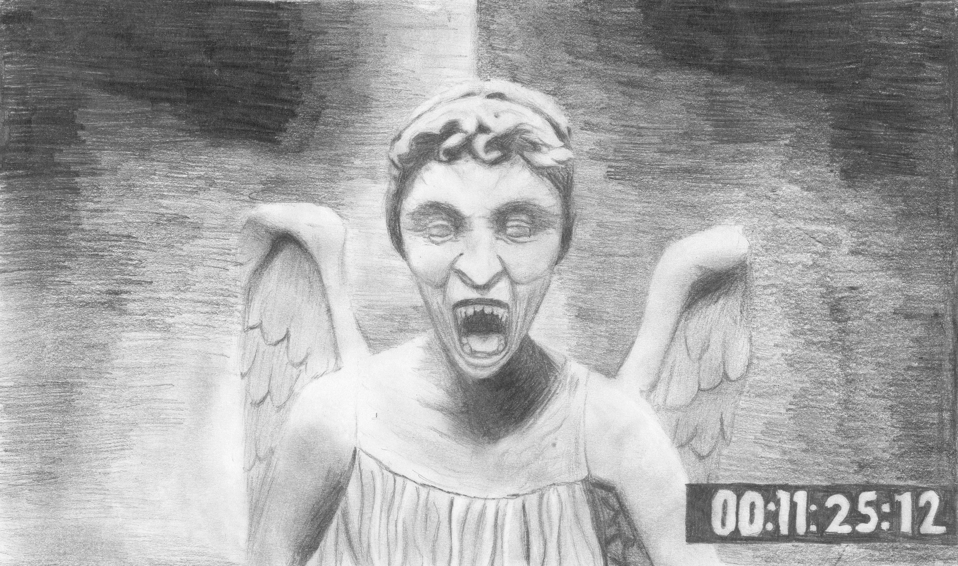 Weeping Angels Wallpaper Hd 9 Wide Wallpaperizcom 3263x1928