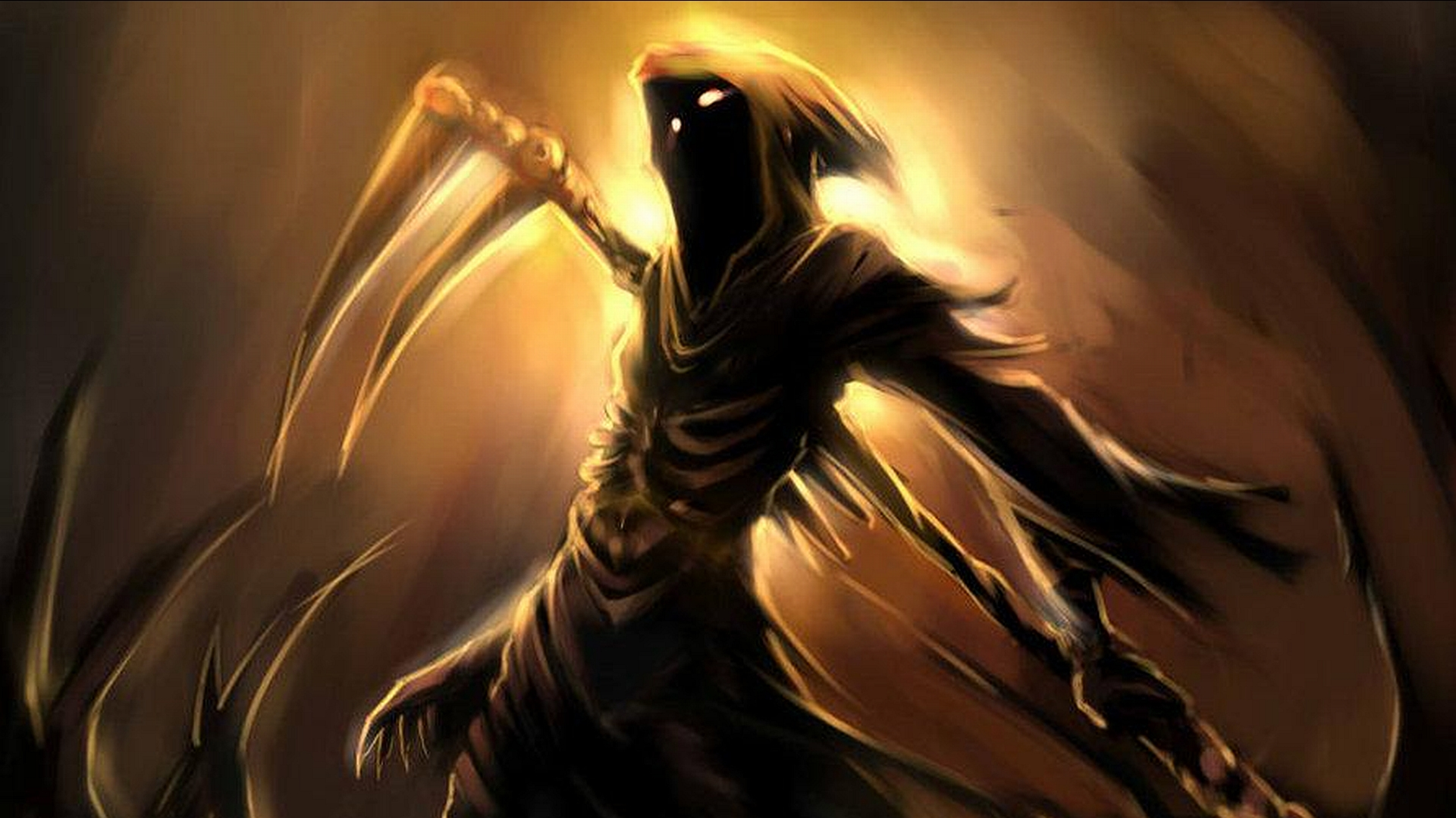 Death The Grim Reaper DOTAFire 1920x1080