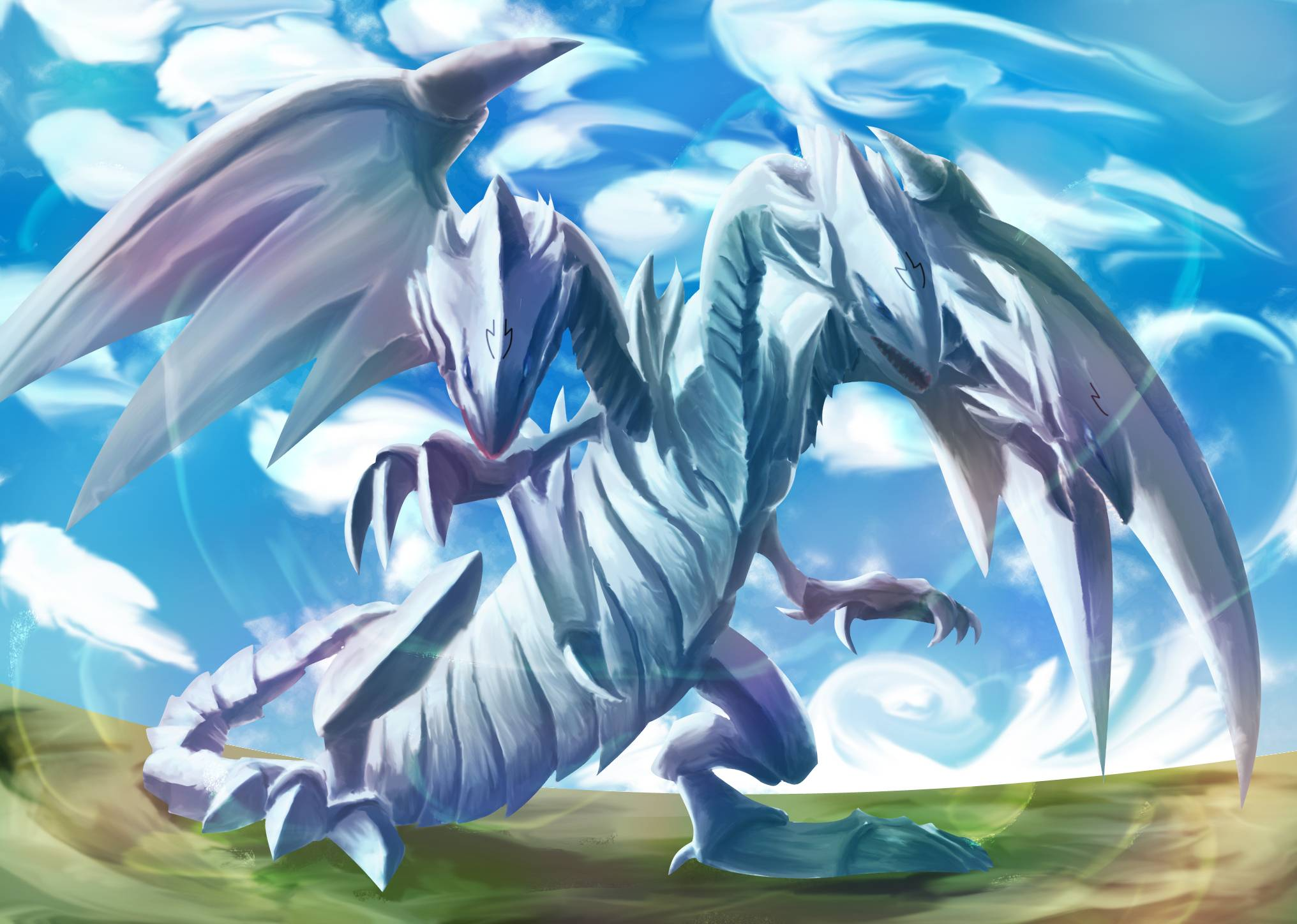 Free Download Blue Eyes Ultimate Dragon Wallpapers 2032x1448 For