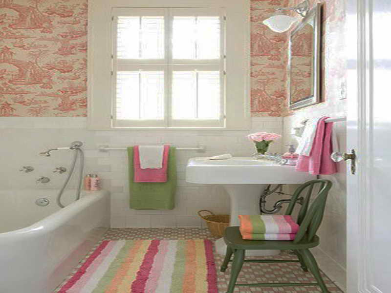 Small Bathroom Designs With Wallpaper Images of Small Bathroom Designs 800x600