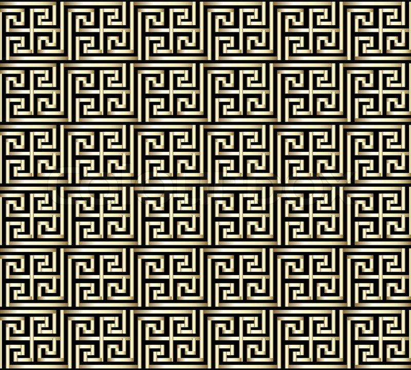 Greek Key Background seamless golden greek key 800x721