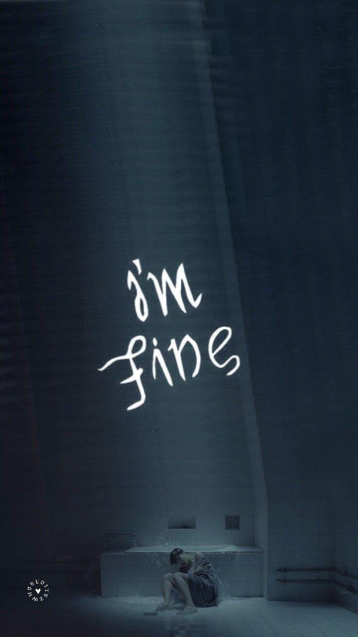 Im fine Imfine Jimin BTS Bangtan Chimchim Oppas en 2019 720x1280