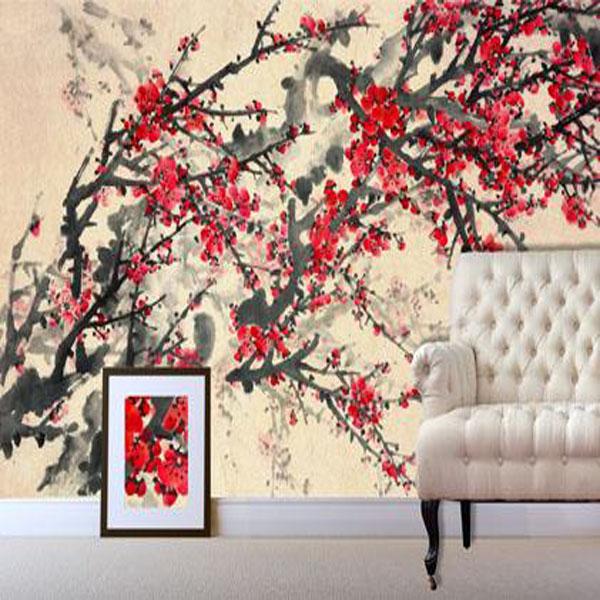 Oriental Mural Wallpaper Wallpapersafari