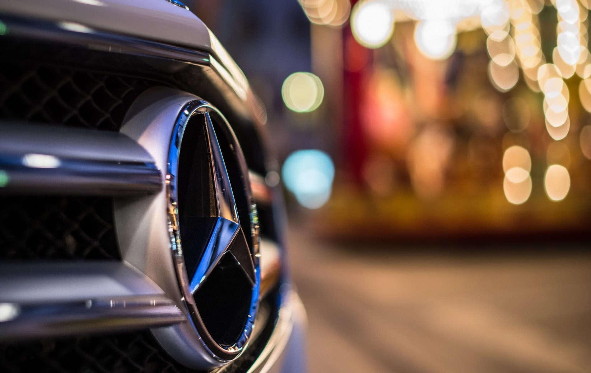 Magnificent Mercedes Benz Logo Wallpaper | Full HD Pictures