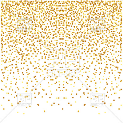 Abstract golden confetti background Vector Image Vector 400x400